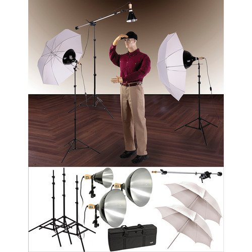 Impact Three-Light Mini-Boom Kit