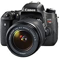 Canon EOS Rebel T6s Digital SLR Camera Kit with EF-S 18-55mm f/3.5-5.6 IS II Lens