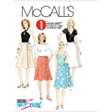 McCall's Patterns M5430 Misses' Wrap Skirts, Size AA (6-8-10-12)