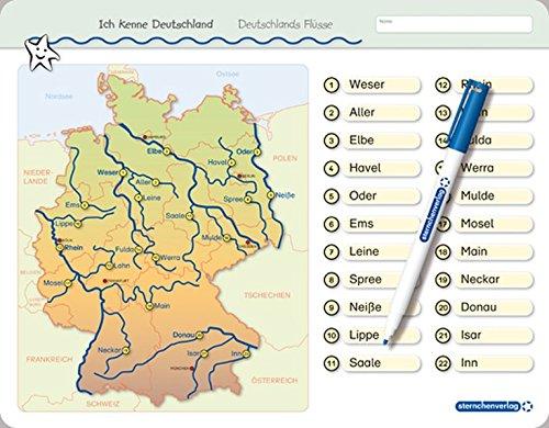 Ich Kenne Deutschland Deutschlands Flusse Fur Die 3 Bis 5