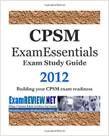 CPSM Certification Exam Study Strategy - What to Study ...