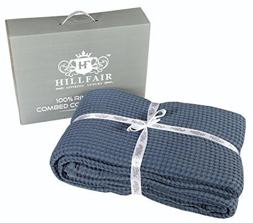 light blue bedspread twin - 6