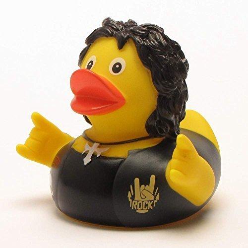 6760 Rubber (Heavy Metal Rubber Duck | Bath Duck | Duckshop | L: 8 cm)