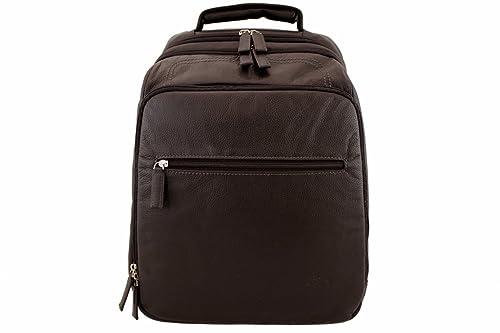 Katana - Bolso mochila de Piel para mujer Marrón marrón: Amazon.es: Zapatos y complementos