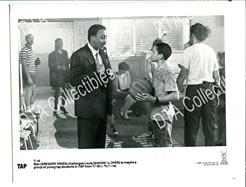 MOVIE PHOTO: TAP-1988-8X10 PROMO STILL-GREGORY HINES-COMEDY FN