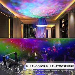 51bFmZKTrRL. SS300  - Karrong-Disco-Licht-Partylicht-LED-Discolicht-Musik-Lichteffekte-Partybeleuchtung-mit-Fernbedienung-7-Farben-RGB-Ozean-Wellen-Dj-Licht-fr-Halloween-Xmas-Party-Kinder-Geburtstag-Karaoke-Dekoration