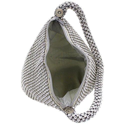 Silver Pochette Silver pour Magibag femme Argenté fw8BdOqOxI