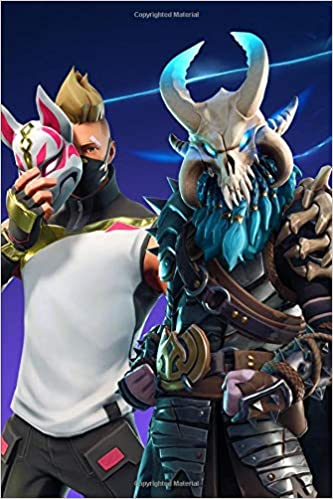 Amazon Fr Fortnite Drift And Ragnarok Journal Paper