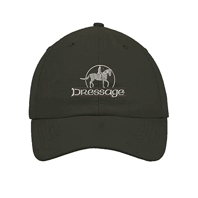 696c8dd0e9a994 Image Unavailable. Image not available for. Color: Speedy Pros Dressage Horse  Cowboy Embroidered Soft Unstructured Hat Baseball Cap ...