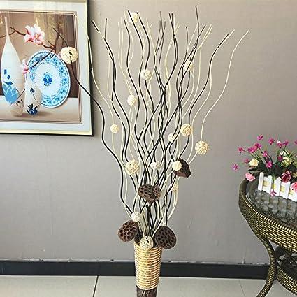 Ramas secas decoradas sala de estar entrada del suelo ramas de flores ramas decoradas madera Sala
