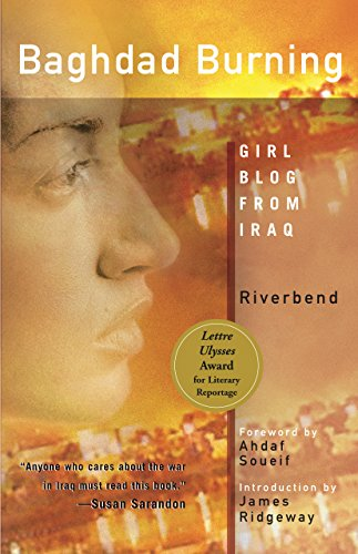 Baghdad Burning: Girl Blog from Iraq