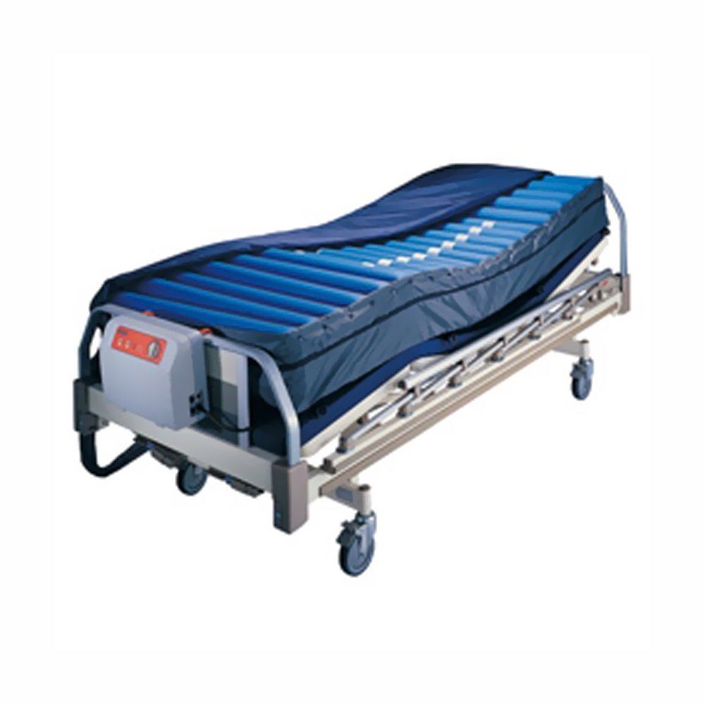 Roscoe Medical Legacy Alternating Pressure System with 8'' Low Air Loss Mattress System with Alarm