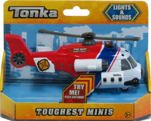 Tonka Helicopter Toughest Minis Lights & Sounds (Truck Sound Monster)