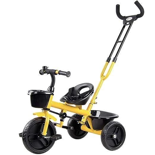 YUMEIGE triciclos Niños Triciclo Asiento Ajustable 18 Meses ...