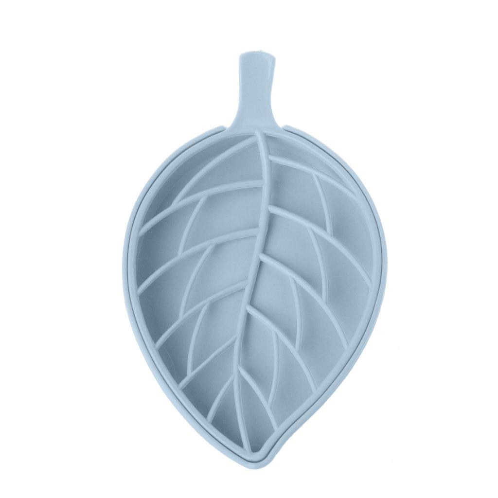 Lunji Porte Savon Plastique Antidérapant pour Savon, éponge 17.5x10.5cm (Rose)
