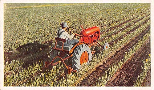 Allis Chalmers Model B Tracker Farming Advertising Vintage Postcard JF235374