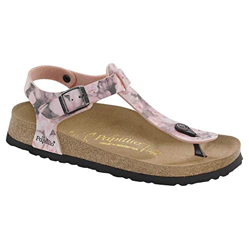brand new outlet boutique stable quality Birkenstock Kairo, Tongs Femme - Rose - Silky Rose Pink, 43 ...