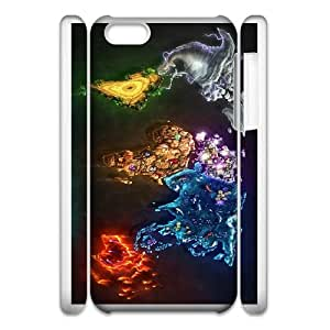 abstract world 3 iphone 6s 4.7 Inch Cell Phone Case 3D White yyfD-345058
