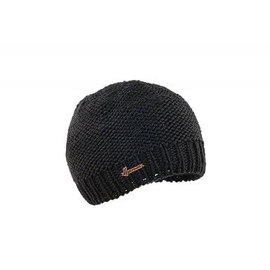 416454a7368 Bonnet Enfant Noir Laine Gylin Herman - Garçon  Amazon.fr  Vêtements ...