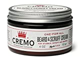 Cremo Beard & Scruff Cream, Astonishingly Superior, Best for all Lengths of Facial Hair, 4 oz Can