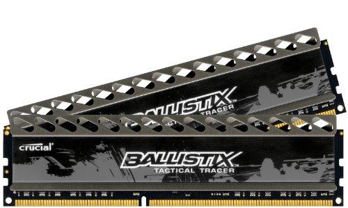 Ballistix Tactical Tracer 8GB Kit (4GBx2) DDR3 1866 MT/s (PC3-14900) CL9 @1.5V UDIMM 240-Pin BLT2KIT4G3D1869DT2TXRG