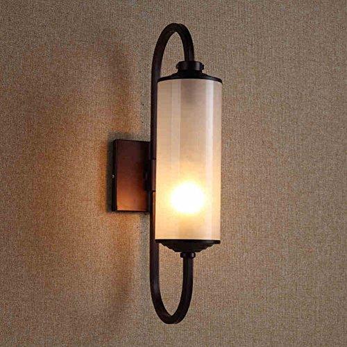 wrought-iron-lamps-ledwall-lamp-balcony-aisle-lights-study-bedroom-lights