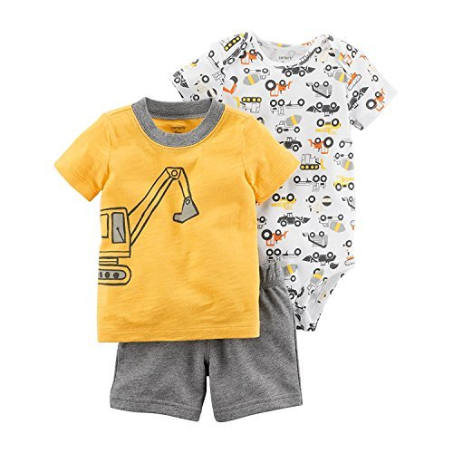Carter's Baby Boys' 3 Piece Little Short Set 12 Months