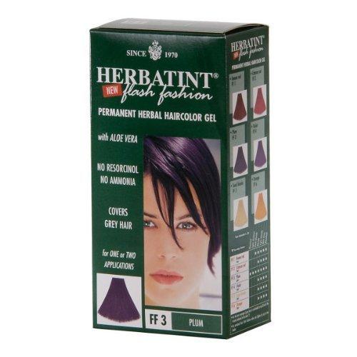 Herbatint Haircolor Kit Flash Fashion Plum FF3 -- 14 fl oz by Herbatint