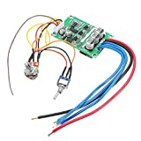 Ils - DC 12V-36V 500W High Performance Brushless Motor Controller Driver Board Mounted No Hall