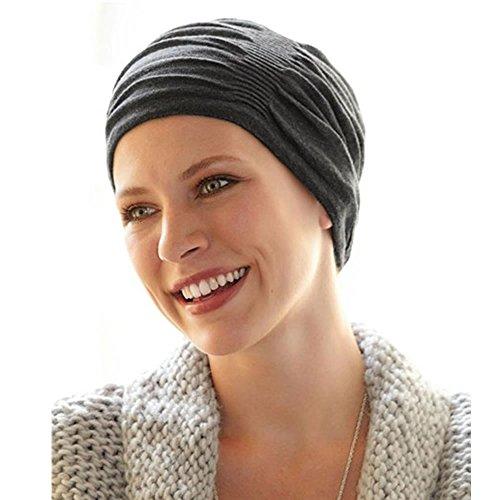 Pañuelo Quimioterapia Dahlia Hat grey 42662 -Unidad