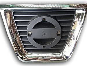 2008-2011 Nissan Rogue Center Grille Chrome with Black