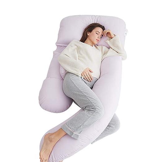 WSXCGY Confort Cuerpo Almohada Multifuncional En Forma De U ...