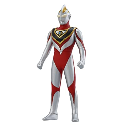 BANDAI Ultra Hero 500 Series #9: Ultraman Gaia (V2): Toys & Games