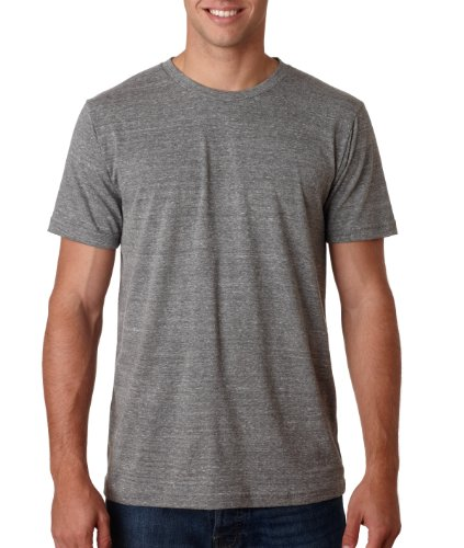 Men's Tri-blend Tee (Grey TriBlend) (Large)
