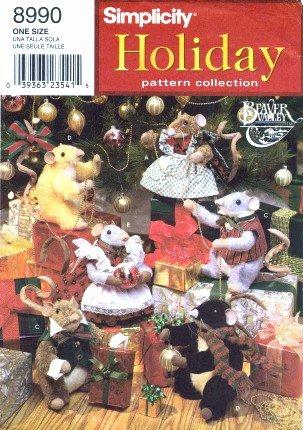 Corona Mccalls artesanías patrón de costura 6453 árbol de Navidad Adornos FALDA..
