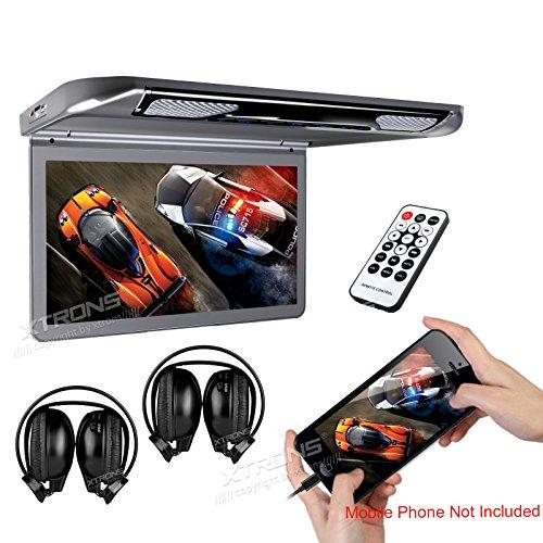 """XTRONS® 13.3"""" HD 1080P Video Car MPV Roof Flip Down Slim Mo"""