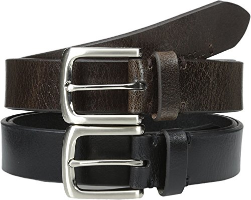 Fossil Leather Genuine Belt (Fossil Men's Adam Belt Set Multi)