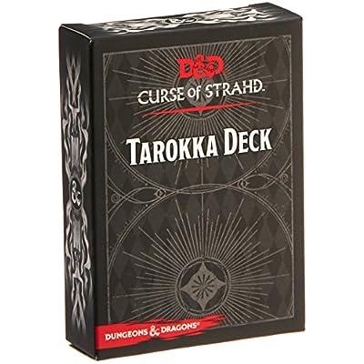 Dungeons & Dragons: Curse of Strahd Tarokka Deck: Toys & Games