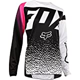 Fox Racing 2018 Youth Girls 180 Jersey-Black/Pink-YXL