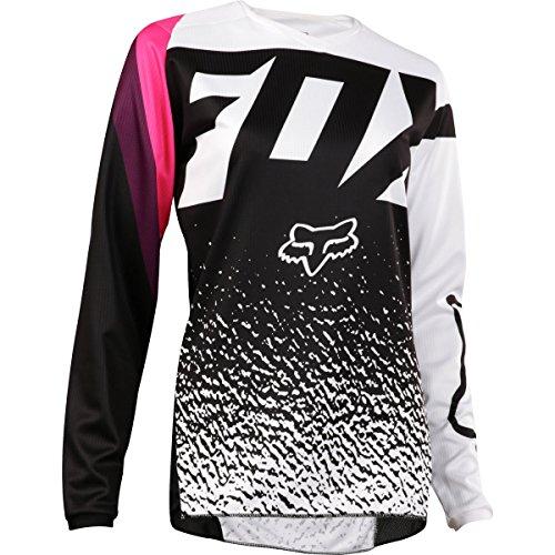 2018 Fox Racing Youth Girls 180 Jersey-Black/Pink-YM (Fox Gear Kids)