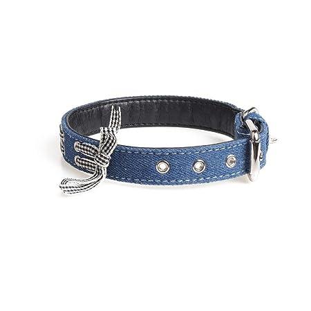 Collar de perro ajustable Cinta de Bowknot Cuello de mascotas ...