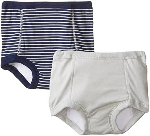 Gerber Baby Boys' 2 Pack Sports Training Pant with Peva Lining