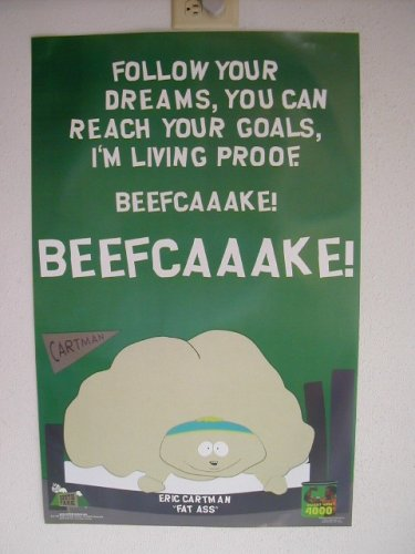 South Park Poster Beefcaaaake Beefcake SouthPark