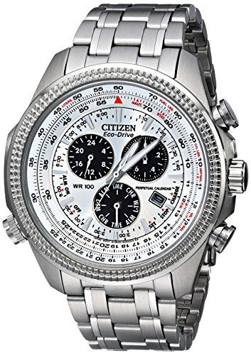 Citizen Men's BL5400-52A Eco-Drive Stainless Steel Sport Watch with Link (Citizen Eco Drive Men Watch)