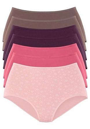 d1dfd7d24d8a49 Petite Fleur Trendige Unterwäsche Damen Hipster im 7er-Pack Unterhose  günstig, Größenauswahl:36