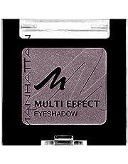 Manhattan Multi Effect Eyeshadow – brązowe, połyskujące cienie do powiek w poręcznej puszce, intensywne kolory i długotrwałe – kolor Choc Kiss 96Q – 1 x 2 g
