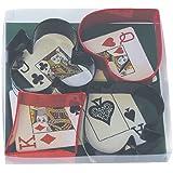 "R & M International ""Playing Bridge"" Cookie Cutter Set"