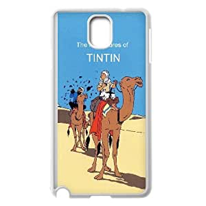 Samsung Galaxy Note 3 Cell Phone Case White TinTin cartoon qary