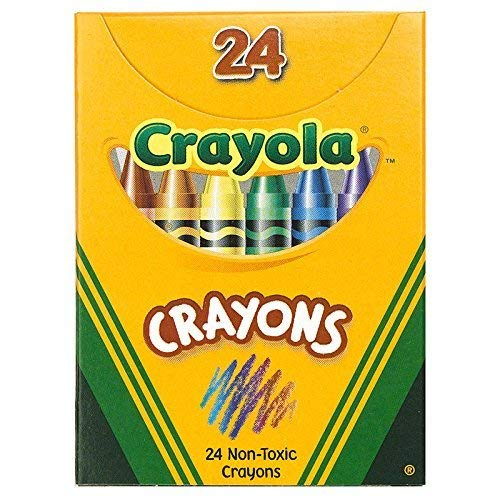 (CRAYOLA LLC CRAYOLA REGULAR SIZE CRAYON 24PK (Set of 12))