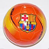 FC Barcelona Soccer Ball Orange AWAY # 5 AUTHENTIC OFFICIAL MESSI 10